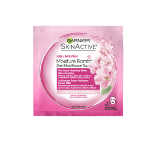 SkinActive Moisture Bomb Super Hydrating Glow-Boosting Sheet Mask, 32 ml