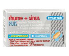 Image of product Personnelle - Cold + Sinus Plus, 40 caplets