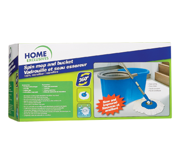 Image 2 of product Home Exclusives - Spin Mop and Bucket, 1 unit