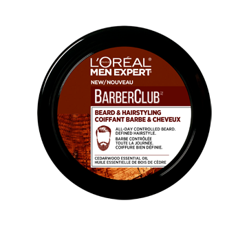 Men Expert BarberClub Beard and Hair Styling Cream, 75 ml