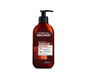 Image of product L'Oréal Paris - Men Expert Face Wash 3-In-1 Cleanser Face, Beard + Hair Wash, 200 ml