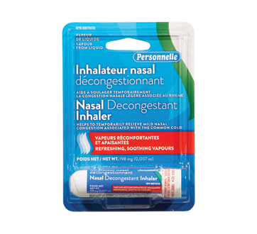 Image of product Personnelle - Nasal Decongestant Inhaler, 1 unit