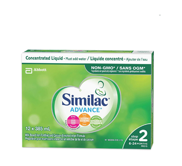 Similac Go & Grow with Omega-3 & Omega-6 Concentrate, 12 x 385 ml