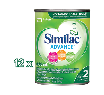 Image 2 of product Similac - Similac Go & Grow with Omega-3 & Omega-6 Concentrate, 12 x 385 ml