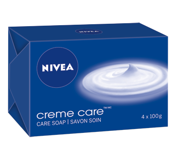 Image of product Nivea - Creme Care Soap, 4 x 100 g