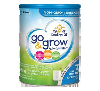 Go & Grow by Similac Step 3 Infant Formula, 850 g, Milk Flavour