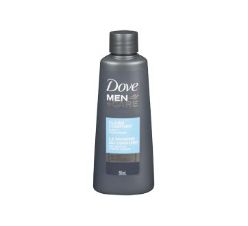 Image 3 of product Dove Men + Care - Clean Comfort Micro Moisture Body & Face Wash, 88 ml