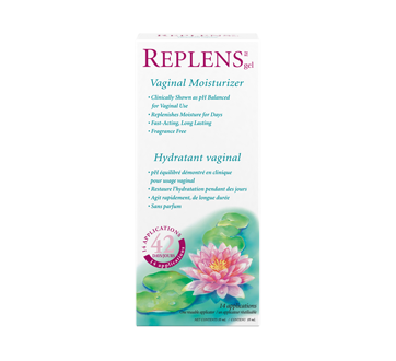 Image of product Replens - Vaginal Moisturizer and Lubricant, 14 units, 42 Days