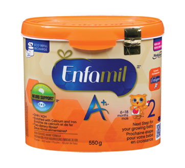 Enfamil A+ 2 Tub, 550 g
