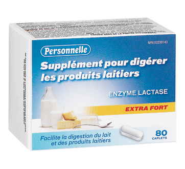 Image of product Personnelle - Dairy Digestive Extra Strength, 80 units