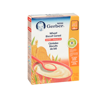 Image 2 of product Gerber - Gerber Wheat Biscuit Cereal, 227 g