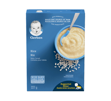 Image of product Gerber - Gerber Rice Cereal, 227 g