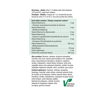 Image 3 of product Jamieson - Chewable B Complex, 90 units