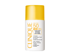 Image of product Clinique - Mineral Sunscreen Fluid For Face SPF 50, 30 ml, Sensitive Skin