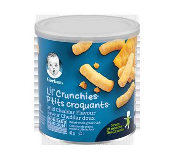 Gerber Lil'Crunchies Mild Cheddar, 42 g
