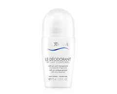 Image of product Biotherm - Le Déodorant By Lait corporel Roll-On Antiperspirant, 75 ml