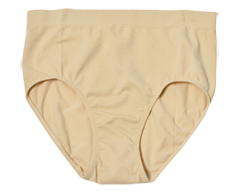 Image of product Styliss - Ladies's High Waist Panty, 1 unit, Large, Beige