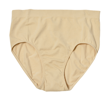 Ladies' High Waist Panty, 1 unit, Extra Large, Beige