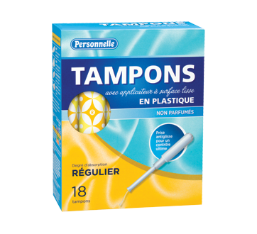 Tampons Regular, 18 units, Unscented