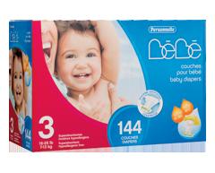 Image of product Personnelle Bébé - Baby Diapers, 144 units