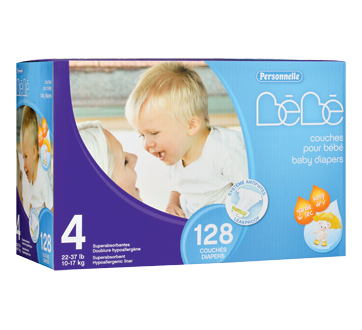 Image of product Personnelle Bébé - Baby Diapers, 126 units