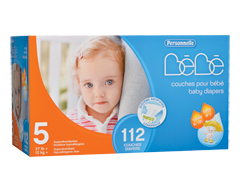 Image of product Personnelle Bébé - Baby Diapers, 112 units