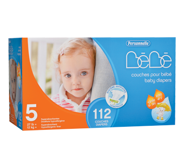 Image of product Personnelle Bébé - Baby Diapers, 112 units