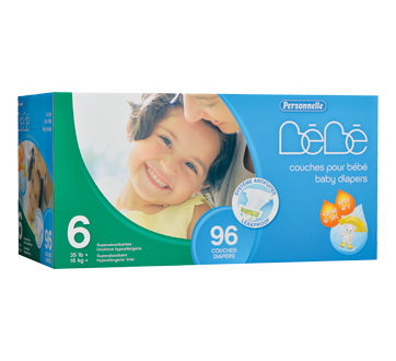 Image of product Personnelle Bébé - Baby Diapers, 96 units