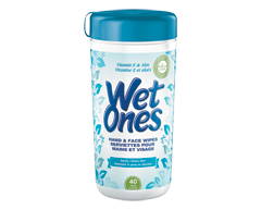 Image of product Wet Ones - Wipes with Vitamin E & Aloe  , 40 Pads