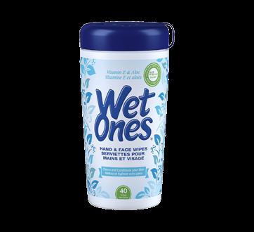 Wipes with Vitamin E & Aloe  , 40 units