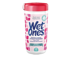 Image of product Wet Ones - Antibacterial Wipes , 40 Pads