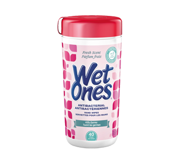 Antibacterial Wipes , 40 units