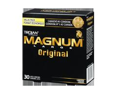 Image of product Trojan - Magnum Original Lubricated Condoms, 30 units