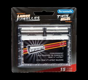 Twin Blade Cartridges, 15 units
