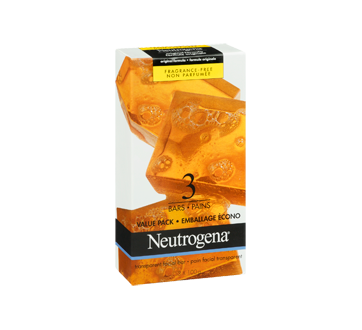 Image 2 of product Neutrogena - Facial Cleansing Bar, Pack of 3, 100 g