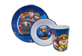 Thumbnail 2 of product Paw Patrol - 3-piece Chase and Friends Mealtime Set, 1 unit