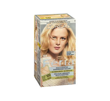 Image 2 of product L'Oréal Paris - Féria - Haircolour, 1 unit 100 - Very Light Natural Blonde Natural