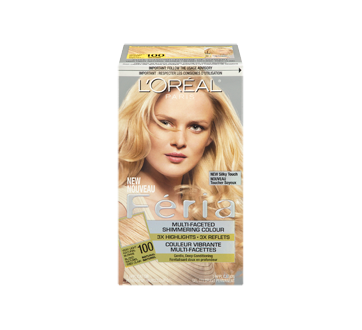 Image 3 of product L'Oréal Paris - Féria - Haircolour, 1 unit 100 - Very Light Natural Blonde Natural