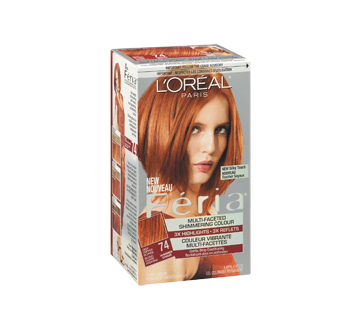 Image 2 of product L'Oréal Paris - Féria - Haircolour, 1 unit 74 - Deep Copper Blonde Warmer