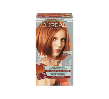 Image 3 of product L'Oréal Paris - Féria - Haircolour, 1 unit 74 - Deep Copper Blonde Warmer
