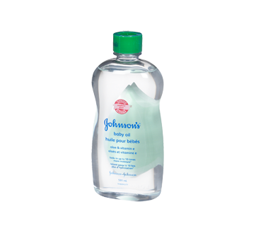 Baby Oil with Aloe Vera & Vitamin E, 591 ml