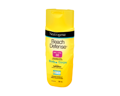 Image of product Neutrogena - Beach Defense Sunscreen Lotion SPF 30, 198 ml
