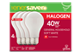 Thumbnail of product Globe Electric - Halogen Light Bulb, 4 units, 345 lumens, 3,000 life hours, dimmable