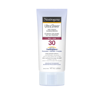 Ultra Sheer Dry Touch Sunscreen SPF 30, 147 ml