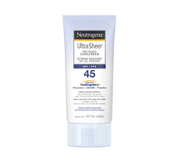 Image of product Neutrogena - Ultra Sheer Dry Touch Sunscreen SPF 45, 147 ml