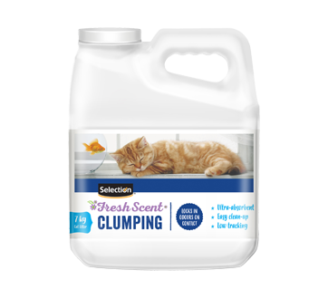 Scented Cluming Cat Litter, 7 kg