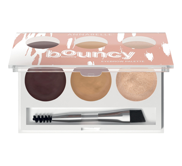 Image of product Annabelle - Bouncy Bouncy Eyebrow Palette, 3 g, Universal