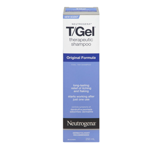 T/Gel Therapeutic Shampoo, original Formula, 250 ml – Neutrogena : Medicated (scalp)