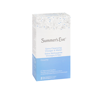 Image 2 of product Summer's Eve - Extra Cleansing Vinegar and Water Douche, 2 x 133 ml
