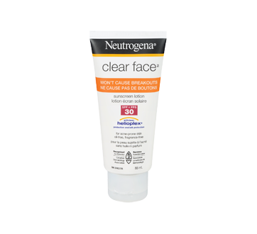 Clear Face Sunscreen Lotion SPF 30, 88 ml